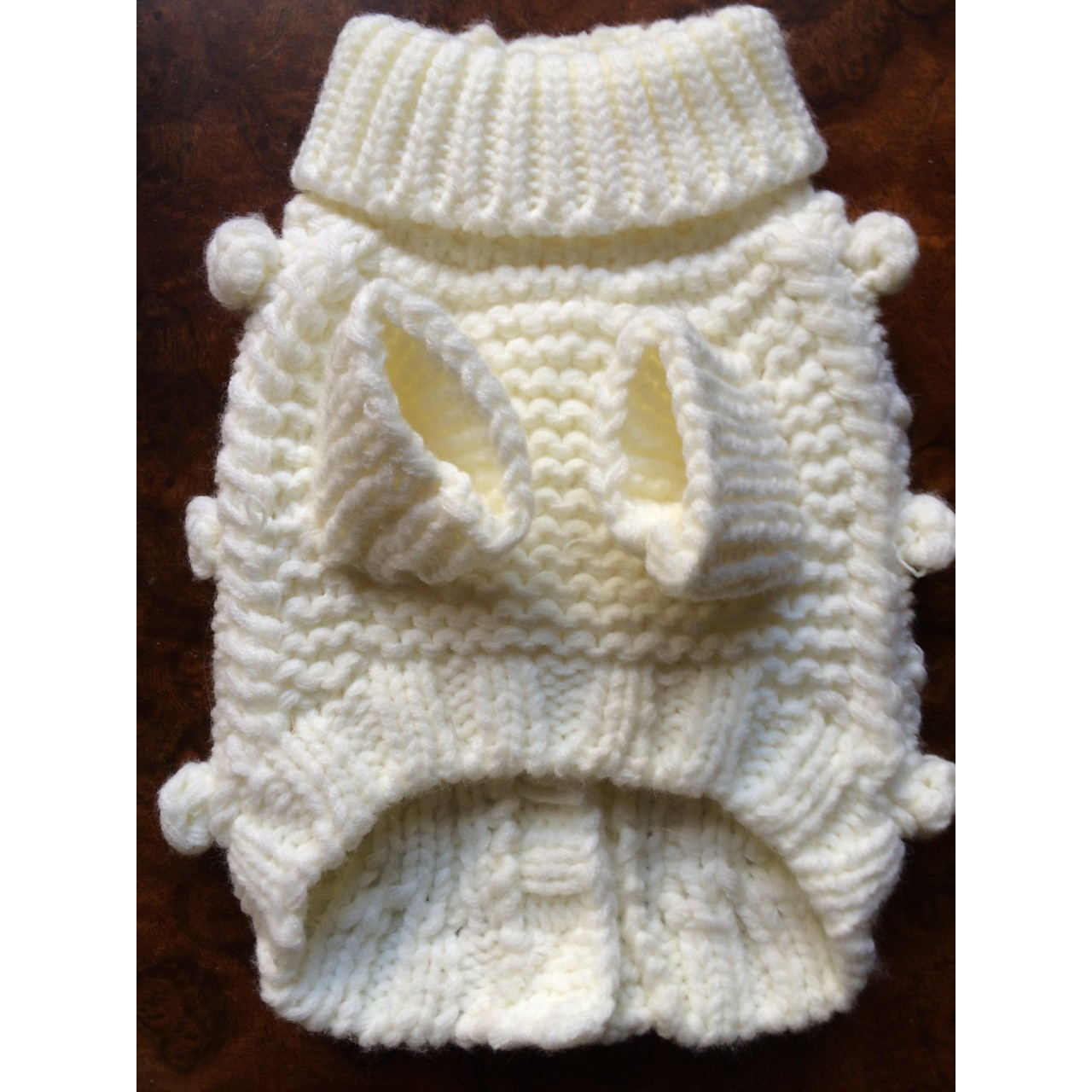 Knitting Pattern Chihuahua Jumper : Chihuahua and Small Breeds Beautiful Knitted Dog Jumper