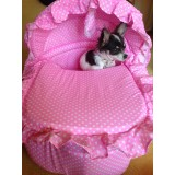 Small Dog Moses Basket Bed ( SALE PRICE -Reduced from £55 - £38.99