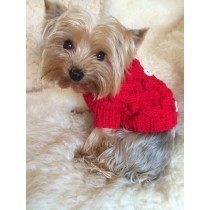 Chihuahua and Small Breeds Beautiful Knitted Dog Jumper