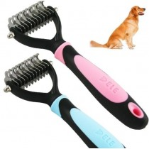 ( SALE !! reduce from £14.99 - £10 )  Top Quality Deshedding Brush for Dogs and Cats