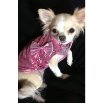 Pink Sequin Pooch T-Shirt